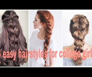 braids, hairstyle tutorial, and easy hairstyle image