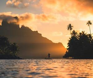 landscape and sunset image