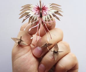 chicks, miniature, and origami image