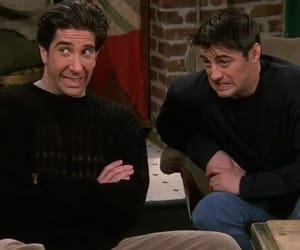 friends, 90s, and Joey image
