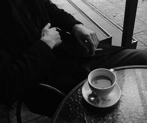 black, coffee, and aesthetic image