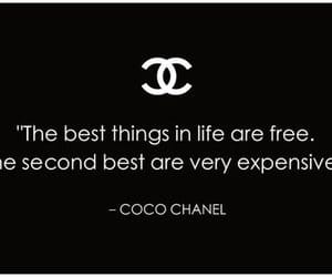 chanel, quotes, and coco chanel image
