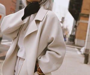 coat, fashion, and winter image