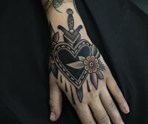 alternative, black, and hand image