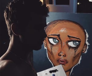 kian lawley, eyes, and painting image