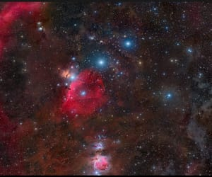 constellation, orion, and space image