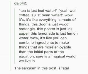 sarcasm and tumblr image