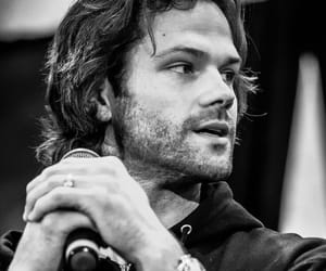 black and white, jared, and men image