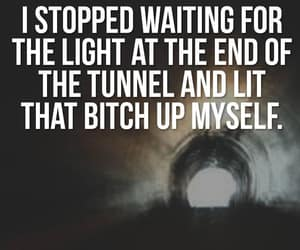 funny, tunnel, and dont wait image