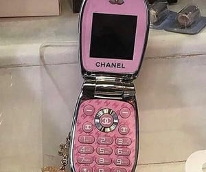 chanel, pink, and aesthetic image