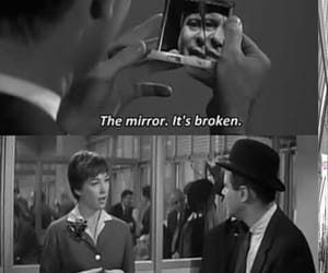 broken, quotes, and mirror image