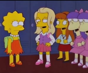 grunge, lisa simpson, and mean girls image