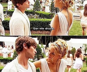 gossip girl, nate, and serena image