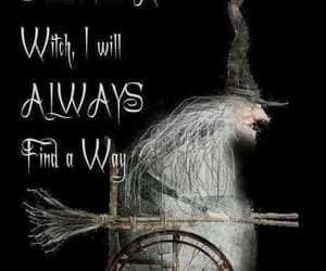 funny, witch, and witches wheelchair image