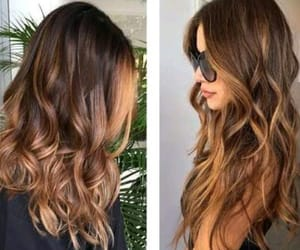 cabelo, hair, and luzes image