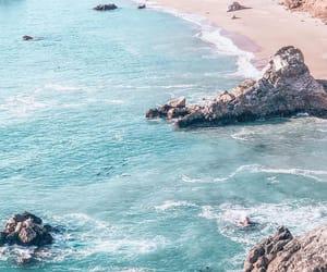 bali, beach, and california image