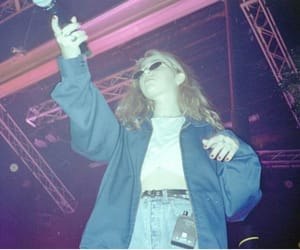 concert, sunglasses, and clairo image
