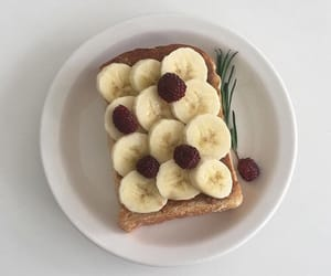 aesthetic, banana, and delicious image