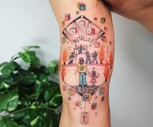 body art, dad, and father image