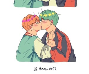 fan art, yoongi, and min yoongi image