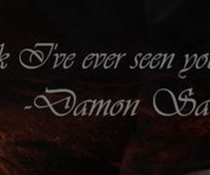 the vampire diaries, tvd, and damon and elena image