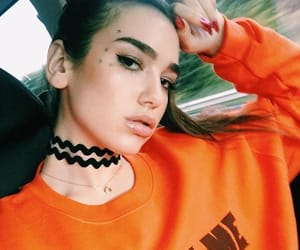 dua lipa, orange, and icon image
