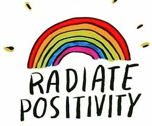 power, quotes, and rainbow image