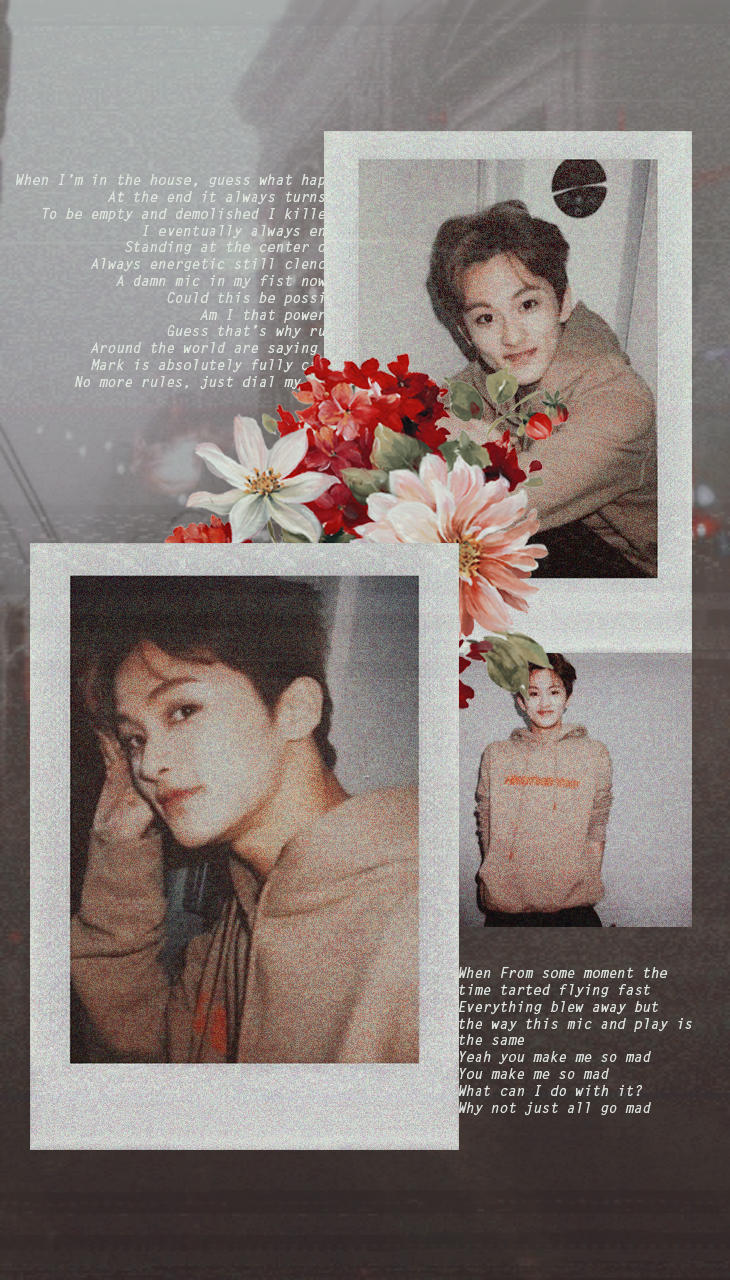 Mark Lee Rose Wallpaper Shared By Jim On We Heart It