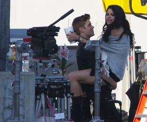 couple, justinbieber, and selenagomez image