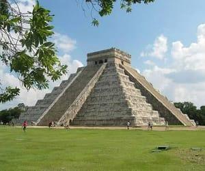 paisaje, travel, and piramide image