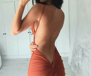 back, body, and dress image