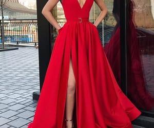 dress, leg, and open image