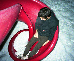 boy and snow image
