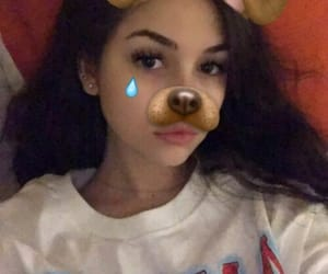 maggie lindemann and snapchat image