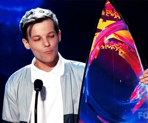 funny face, teen choice awards, and louis tomlinson image