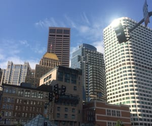 boston, buildings, and city image