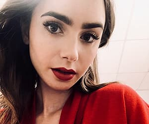 lily collins, beauty, and pretty image