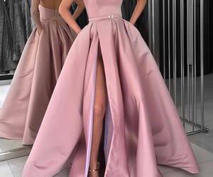 dress, leg, and model image