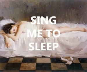 art, quotes, and asleep image