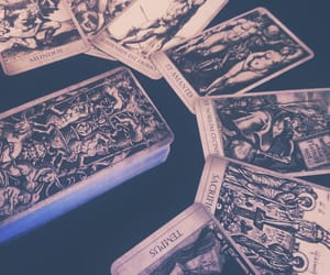 cards, magic, and occult image