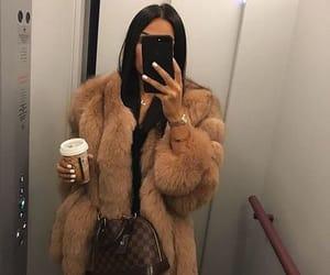 fall fashion, LV, and fur image