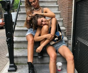 fashion, girls, and best friends image
