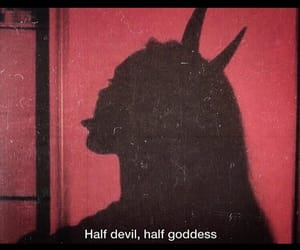aesthetics, beautiful, and Devil image