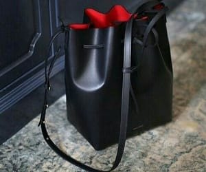 bags, black, and noir image