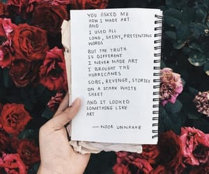 quotes, flowers, and roses image