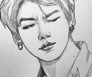 fanart, bts, and jungkook image