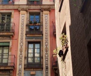 Barcelona, building, and facades image