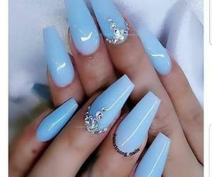 acrylics, fashion, and nails image