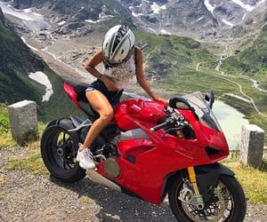 ducati, summer, and girl image