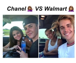 funny, hailey, and justin image